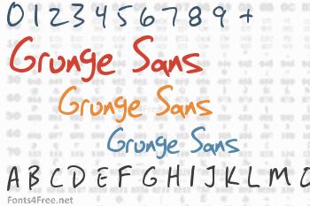 Grunge Sans Font