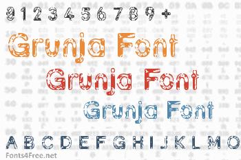 Grunja Font