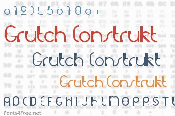 Grutch Construkt Font
