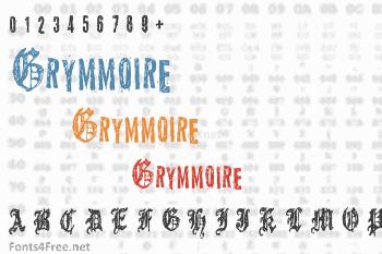 Grymmoire Font