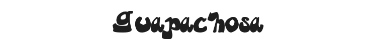 Guapachosa Font Preview