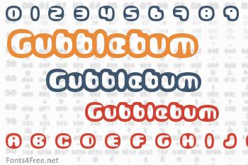 Gubblebum Font