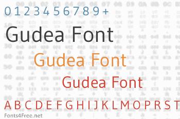 Gudea Font