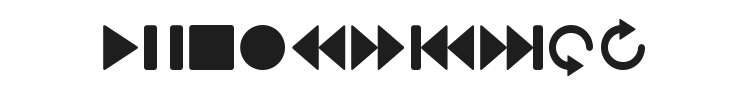 Guifx v2 Transports Font Preview