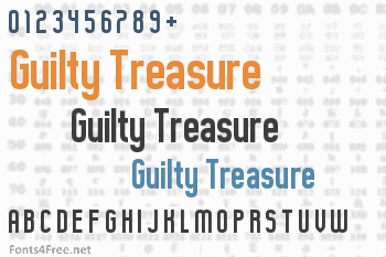 Guilty Treasure Font