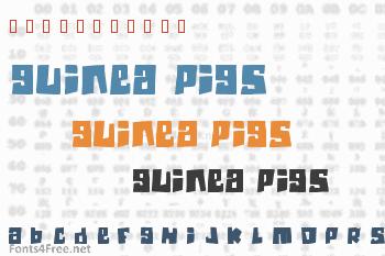Guinea Pigs Font