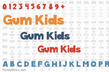 Gum Kids Font