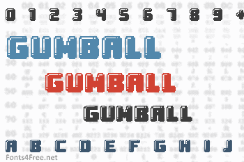 Gumball Font