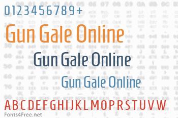 Gun Gale Online Font