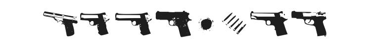 Gunbats Font Preview