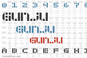 Gunju Font