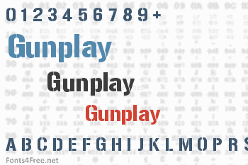 Gunplay Font