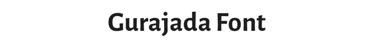 Gurajada Font Preview