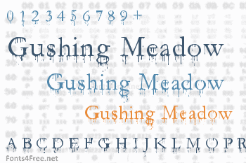 Gushing Meadow Font