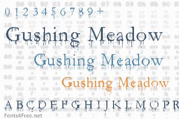 Gushing Meadow Font