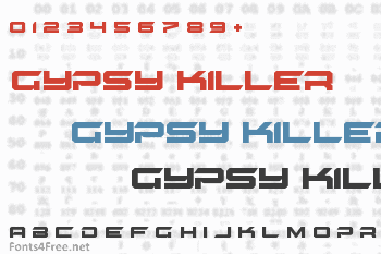 Gypsy Killer Font