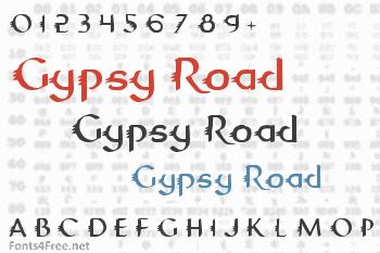 Gypsy Road Font