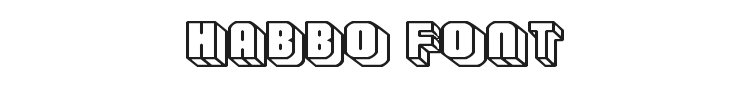Habbo Font Preview