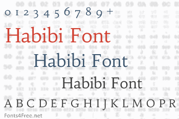 Habibi Font