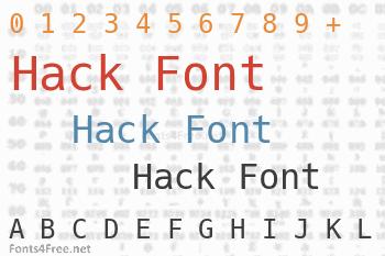 Hack Font