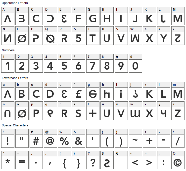 Hacker Argot Font Download - Fonts4Free