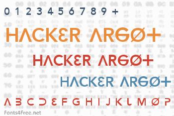 Hacker Argot Font
