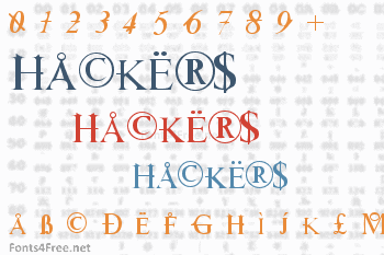 Hackers Font