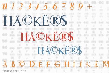 Hackers Font
