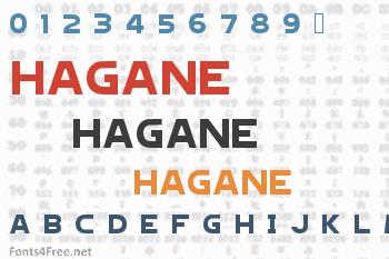 Hagane Font