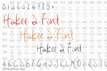 Hakee 2 Font