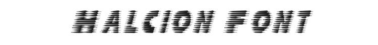 Halcion Font