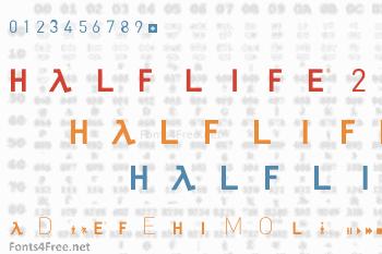 Half Life 2 Font