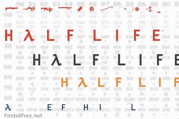 Half Life Font