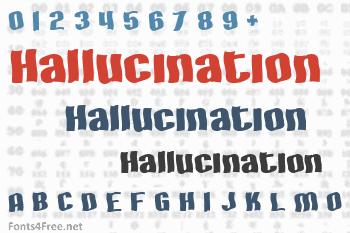 Hallucination Font