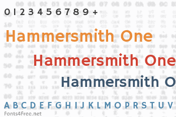 Hammersmith One Font