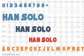 Han Solo Font