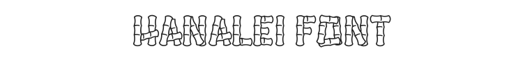 Hanalei Font Preview