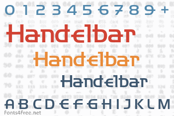 Handelbar Font