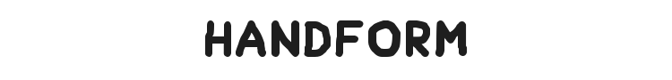 Handform Font