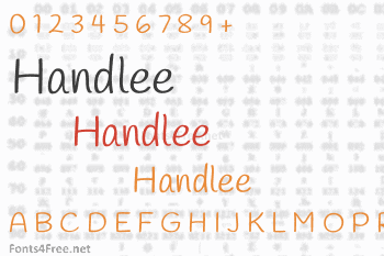 Handlee Font