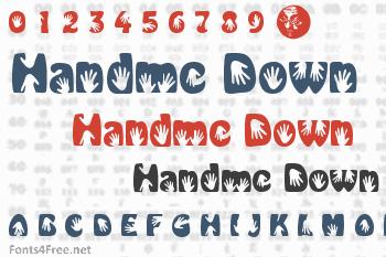 Handme Down Font