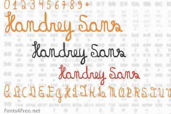 Handrey Sans Font