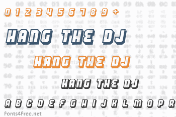 Hang the DJ Font
