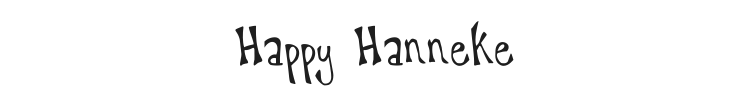 Happy Hanneke Font Preview