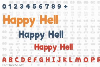 Happy Hell Font
