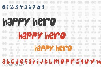 Happy Hero Font
