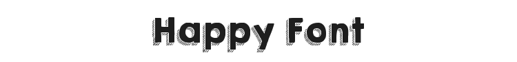 Happy Font Preview