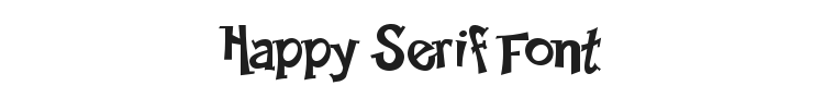 Happy Serif Font Preview