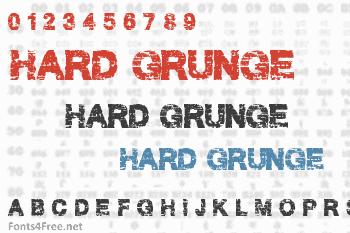 Hard Grunge Font