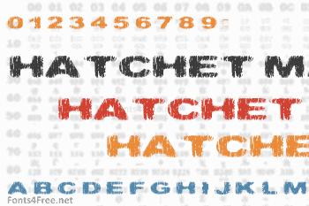Hatchet Man Font